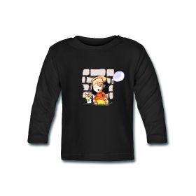 Ballon Maglietta a maniche lunghe Maglietta a manica lunga per bambini Maglietta a manica lunga per bambini, in morbido cotone al 100%, grammatura pari a 200 g/mq e bottoncini presso il colletto, marca: BabyBugz   Dettagli Un Ragazzo manga si perde nei sogni tra i colori e l'immaginazione mentre pensa a graffito disegnare ;e senza rendersene conto diventa lui stesso parte del graffito. PREZZO: 19,90 €  #VECTOR #TSHIRT #DRESS #STYLE #customized
