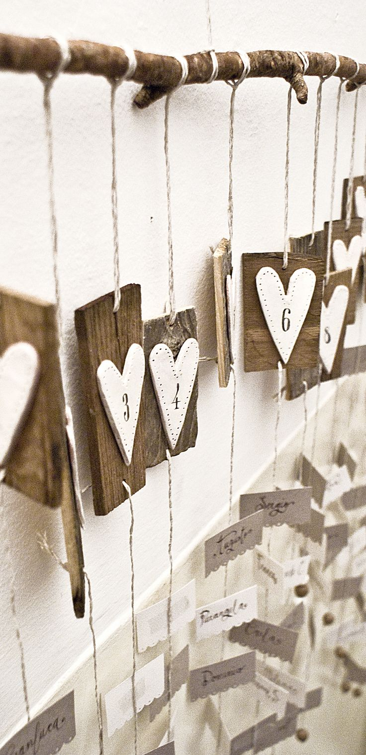 Tableau Mariage - wood & paper by Mondo • Mombo