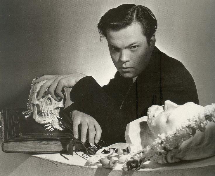 #Orson Welles by #Cecil Beaton. http://chickfactor.com/2013/01/cecil-beaton-scrapbook/orson-by-cb/