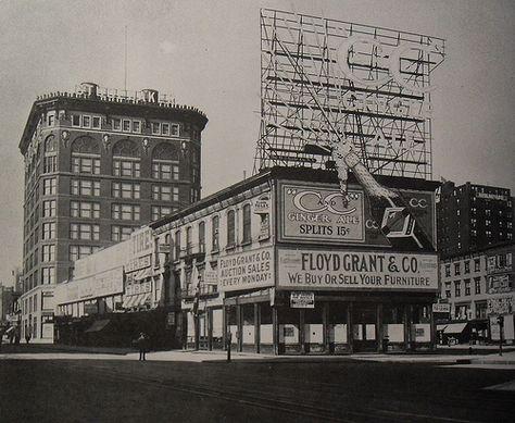 TIMES SQUARE 1909 Vintage NEW YORK CITY