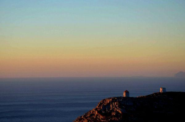 Landscape of Amorgos island