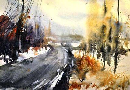 Watercolor by Mohsen Derakhshan https://www.facebook.com/mliyomd?fref=ts