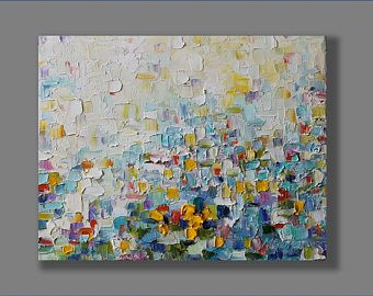Oil Abstract Painting, Oil Painting,  Modern Painting, Contemporary Painting, Palette Knife Painting Oil Artwork