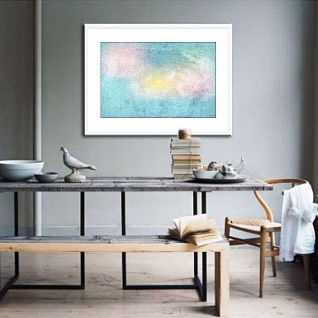 The Canvas Workshop Floss Landscape Framed Print