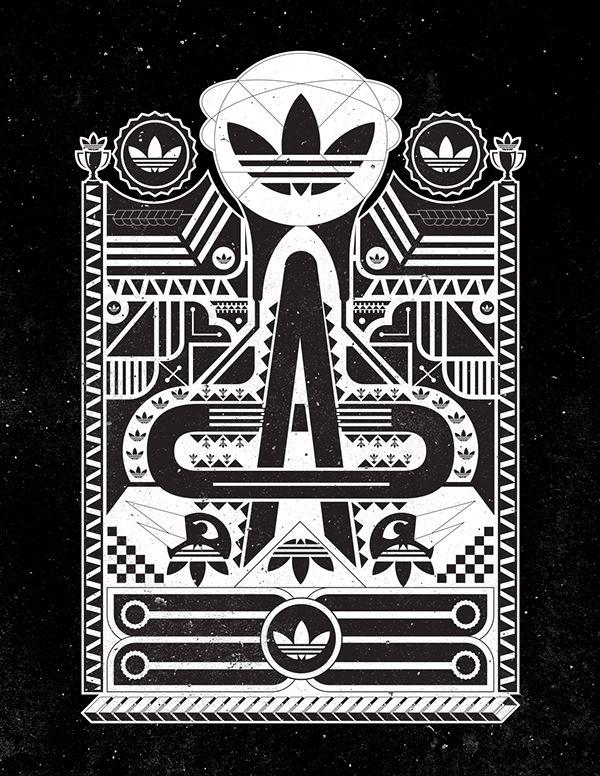 Adidas Originals (Black And White Series) on Behance