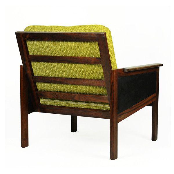 Duński fotel Capella, I. Wikkelsø, lata 60