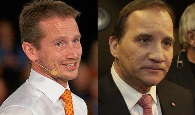 Danmarks utrikesminister Kristian Jensen ger den svenska regeringen kalla handen. Foto: Venstre/Nyheter Idag