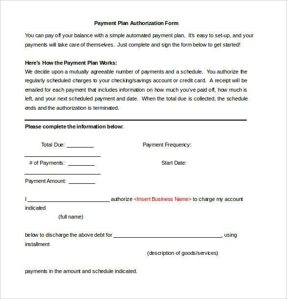 Payment Plan Agreement Template Special 27 Of Payment Approval Form Template Of 31 Well Desig Contract Template How To Plan Monthly Schedule Template