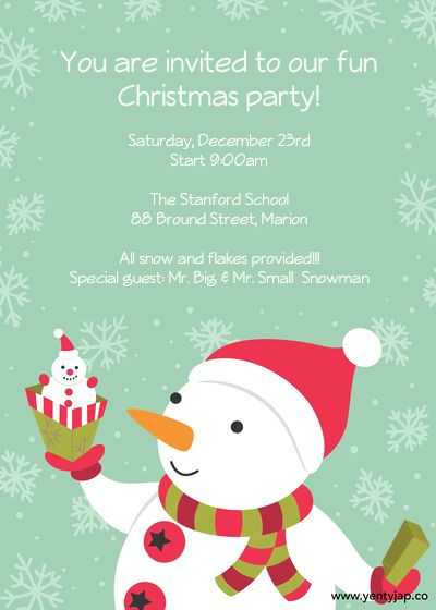 Kids+Christmas+Party+Invitation+designed+by+Yenty+Jap+on+Pingg.com