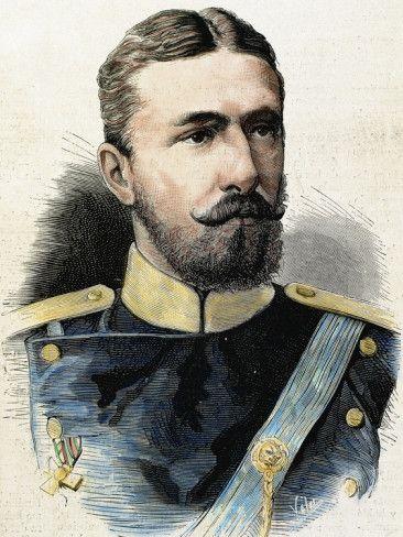 Arms Alexander of Battenberg (1857-1893). Prince of Bulgaria (1879-1886).