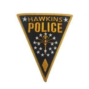 Stranger Things Hawkins Police Patch