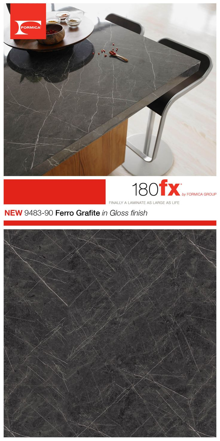 An Elegant Marble Of Intense Gray Revived By Strong White