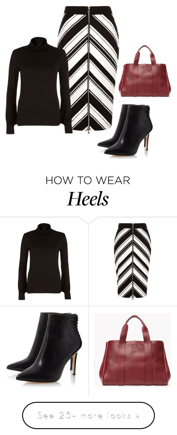 """""""Chevron sense!"""" by lollahs on Polyvore featuring River Island and Theory"""