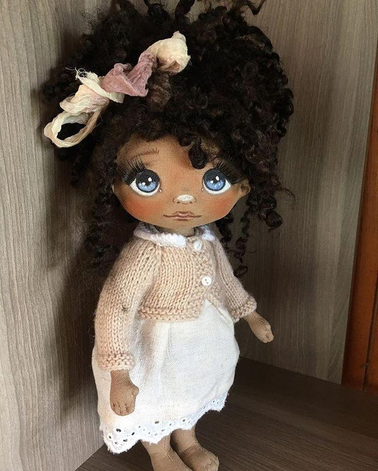 Вот такая смугляночка😊🌺😍 #кукла #кукларучнойработы #куклытатьяныкапотиной…