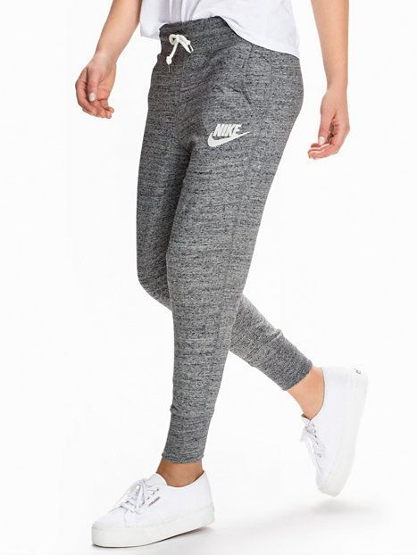 Nike Gym Vintage Pant - Nike - Carbon - Housut & Shortsit - Vaatteet - Nainen - Nelly.com