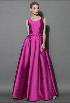 Glamorous Backless Maxi Prom Dress in Violet - sale - Retro, Indie and Unique Fashion