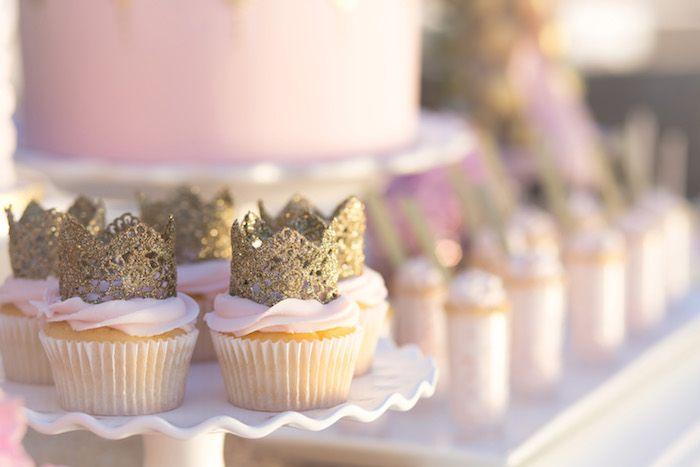 Vintage Glam Princess Birthday Party via Kara's Party Ideas | KarasPartyIdeas.com (22)