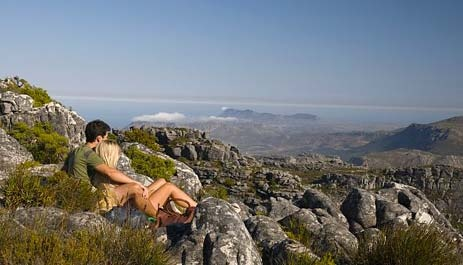 Table Mountain from the top, Cape Town: Articles, Mountain National Parks, Tables Mountain, Capes Town, Africans Tourism, South Africans, Cape Town, Honeymoons Destinations, Africa Honeymoons