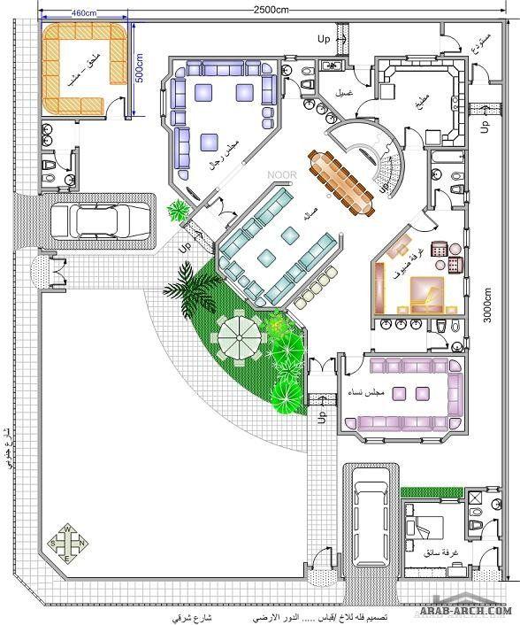 خرائط بيت المستقبل مخطط 2 فيلا دورين House Floor Design Beautiful House Plans Model House Plan