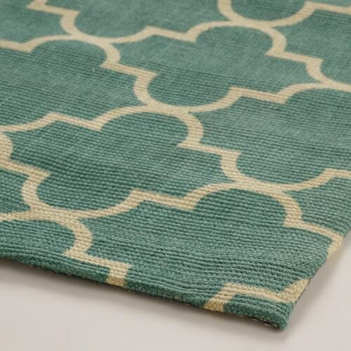 Blue Moroccan-Style Jute Emy Area Rug - $199, 8x10