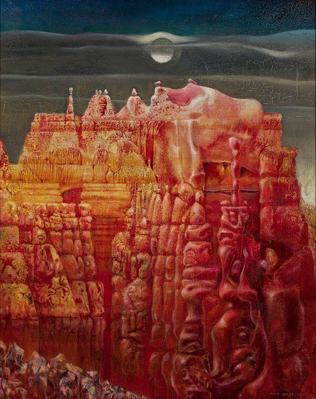 Max Ernst - Bryce Canion Translation. No dia do aniversário de Max Ernst dividimos com vocês sua obra Bryce Canion Translation, que faz parte do acervo do MASP. #maxernst #masp #arte (via MASP - Museu de Arte de São Paulo Assis Chateaubriand on Facebook)