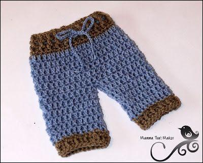 Mamma That Makes: Photo Prop Pattern Lil Pants 0-3 Months