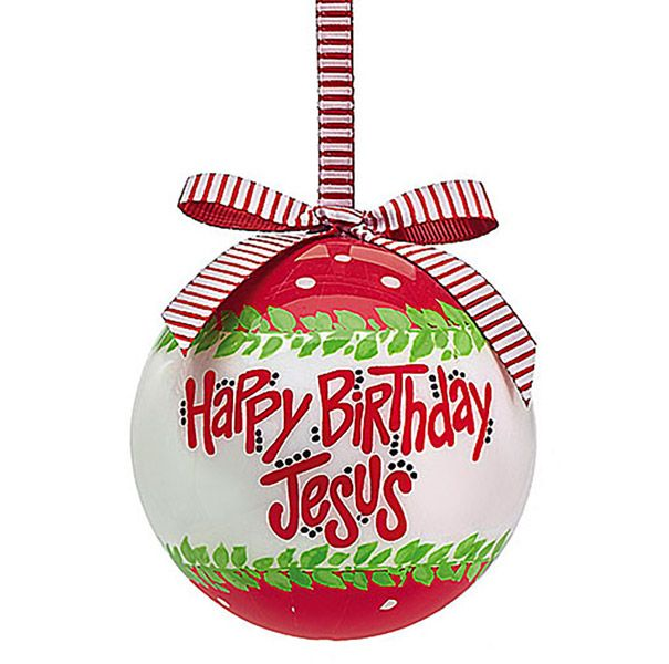 Happy Birthday Jesus 2015 Ornament On Songear Com Christian