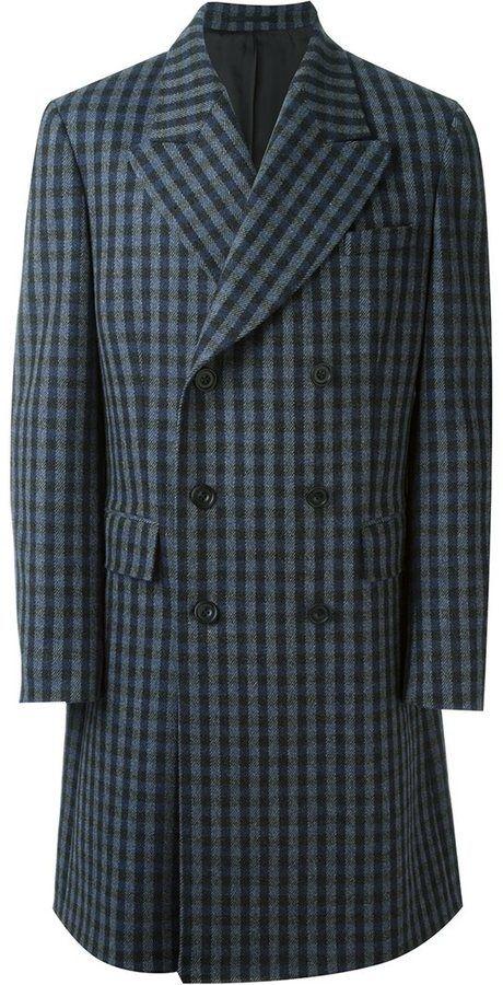 E. Tautz double breasted overcoat
