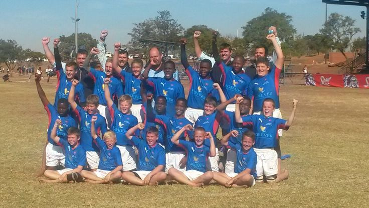 Congrats to our U/12 Limpopo Blue Bulls who won 22-14 against the Northern Transvaal Blue Bulls in the U/12 Vryheid Tournament Final!