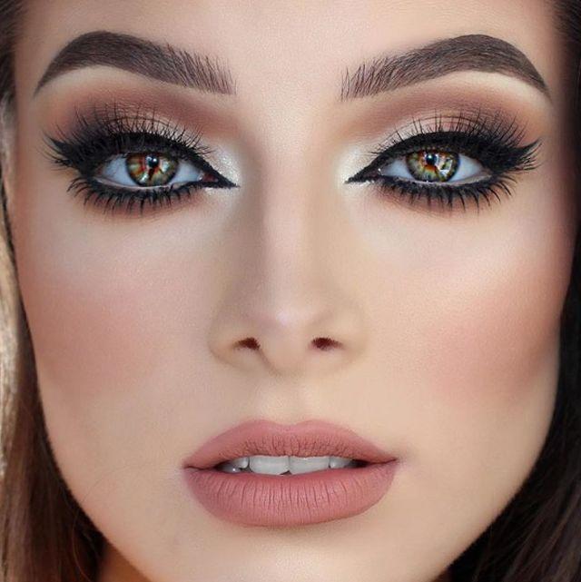 Maquillaje Coctel, Maquillaje Para Novias De Noche, Maquillajes De Noche, Belleza Maquillajes, Maquillaje Impecable, Maquillaje Bonito, Sombras De Ojos