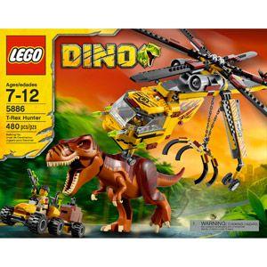 how to build lego creator dino t rex head
