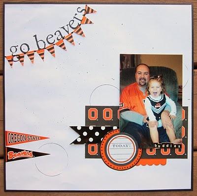 .Scrapbook Sept, Scrapbook Banners, Scrapbook Layout