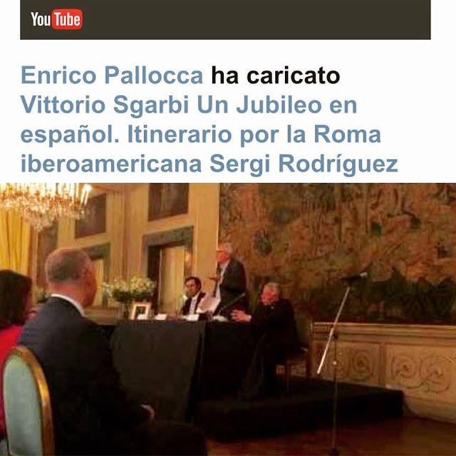 AskMe! PreguntaMe! ChiediMi! : Vittorio Sgarbi Un Jubileo en español. Itinerario ...