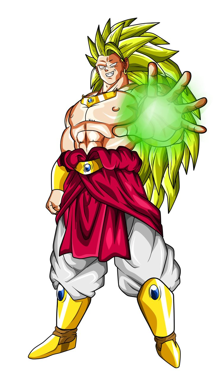 Broly ssj3 dragon ball z pinterest chang 39 e 3 - Broly dragon ball gt ...