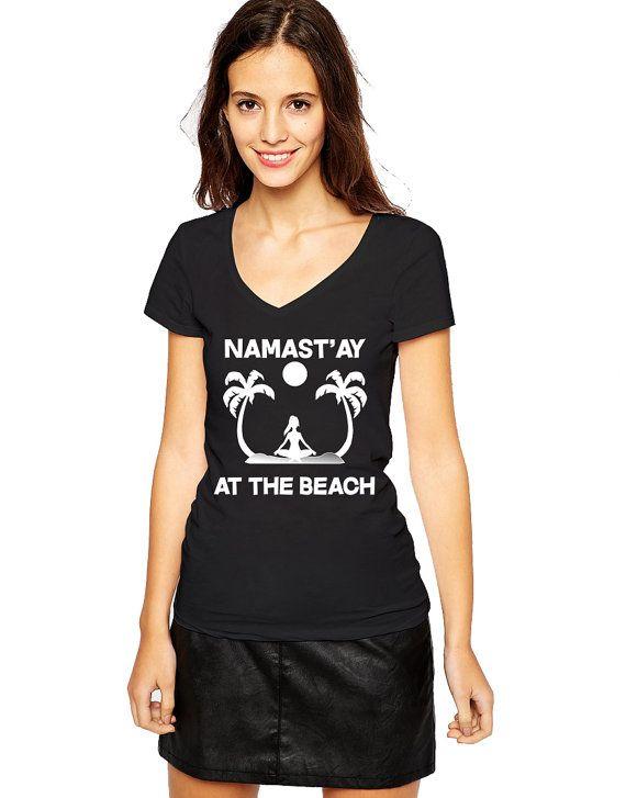 Beach Shirt - Beach Gifts - Beach Girl - Beach House - Namaste - Ohm - Yoga…