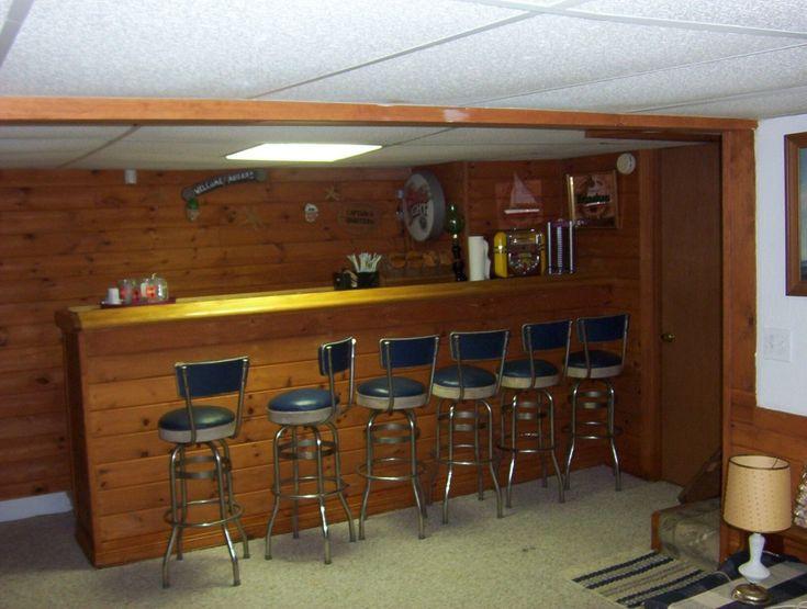 Basement bar man cave ideas pinterest Do it yourself bars for basements