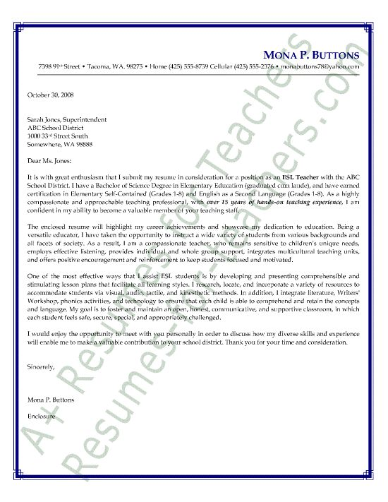 Esl Cover Letter Proofreading Service Us LiveCareer UK New Grad Nurse Example