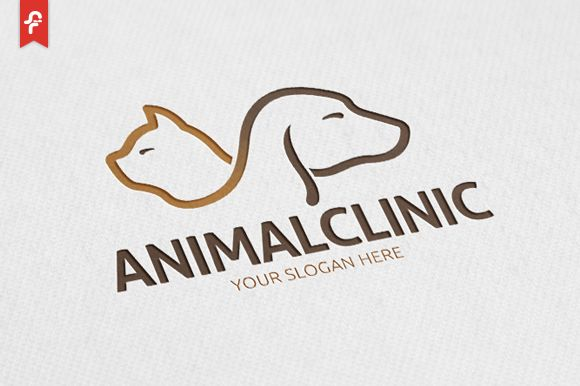 Animal Clinic Logo by ft.studio on @creativemarket