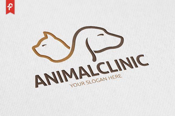 Animal Clinic Logo by ft.studio on @creativemarket                              …