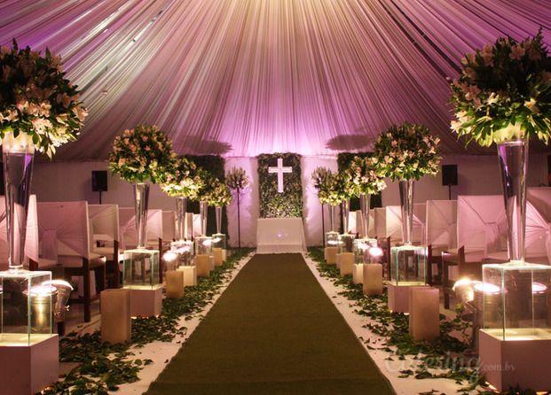decoração de casamento rustico em salao de festas  Pesquisa Google