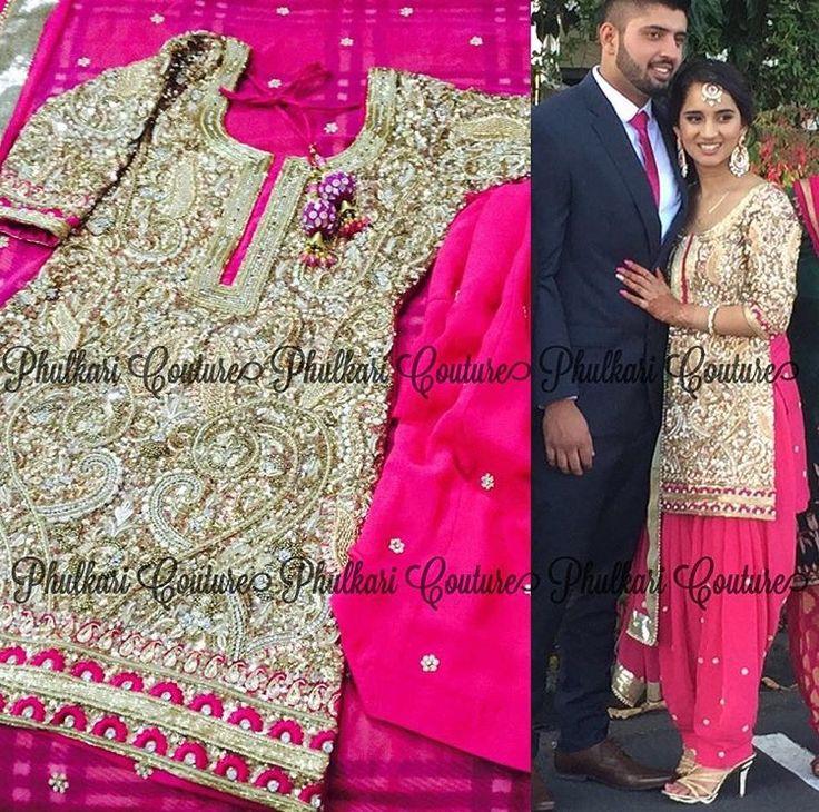 Amazing Indian Wedding Punjabi Suits Embellishment - Wedding Dress ...