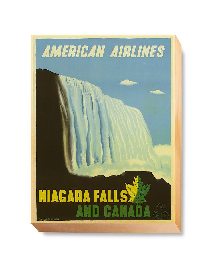 TRV 061 Travel Art Niagara Falls