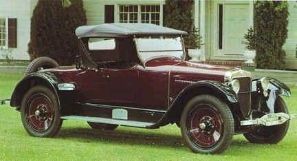 1922 Wills St. Claire A 68 - (Wills St. Claire Motors, Marysville, Michigan 1921-1928)