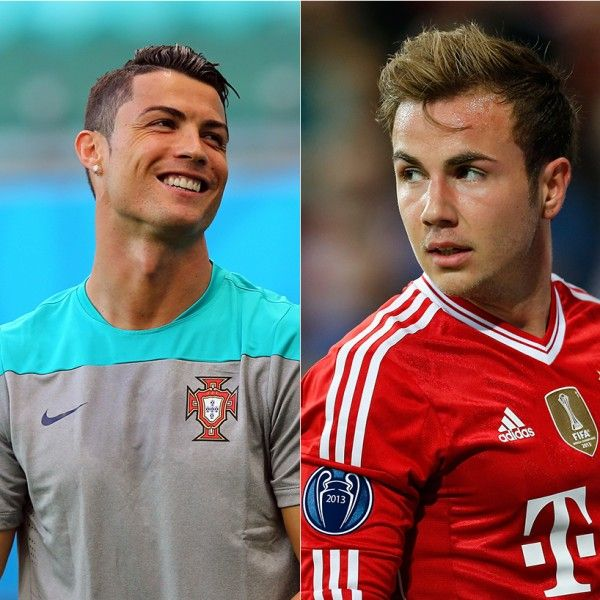 The Hottest Guys of the World Cup: Monday, June 16 - Two smoking reasons to watch Germany versus Portugal today - Christiano Rinaldo or Mario Gotze? - Take a vote at wwwl.flare.com/celebrity