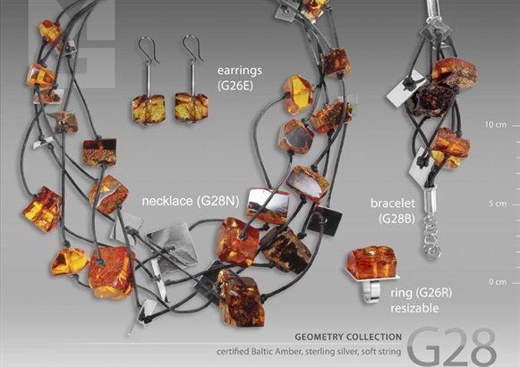 Ambermoda - Baltic Amber & Artistic Jewellery Designing  MODERN AMBER JEWELRY....WOW!!!
