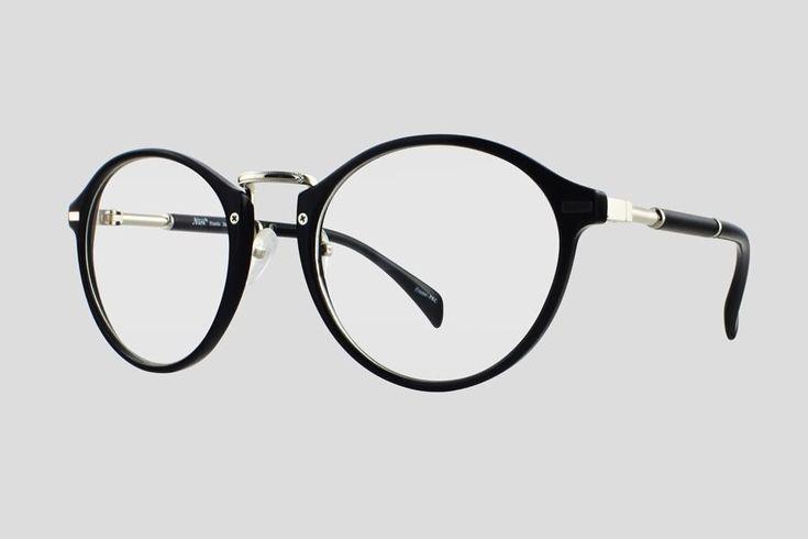 #Brillen van Nisi. Dit is de Capstan (art. nr. F10.700UBL), complete bril vanaf € 29,90. #Montuur van zwart plastic en zilverkleurig monel. Verkrijgbaar in meerdere kleuren.