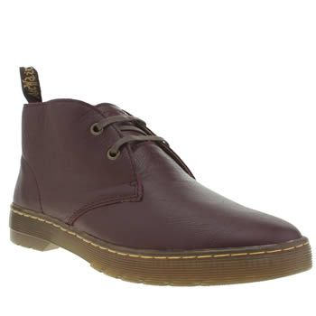 Dr Martens Burgundy Cruise Cabrillo Mens Boots Relaxed chukka boots are presented by Dr Martens in the form of the Cruise Cabrillo. The smooth burgundy leather upper features subtle embossed branding at the tongue, along with the iconic pull tab i http://www.MightGet.com/january-2017-13/dr-martens-burgundy-cruise-cabrillo-mens-boots.asp