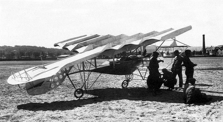 Les avions étranges des débuts de l'aviation