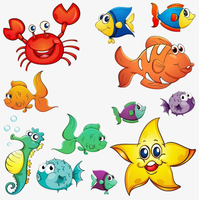 Sea Animal Collection Cartoon Animal Clipart Cartoon Clipart Sea Clipart Png Transparent Clipart Image And Psd File For Free Download Cartoon Sea Animals Sea Creatures Animal Clipart