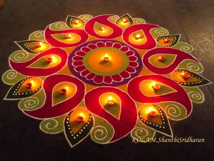 Pin by prabha watwe on mandalas pinterest beautiful for Simple diwali home decorations